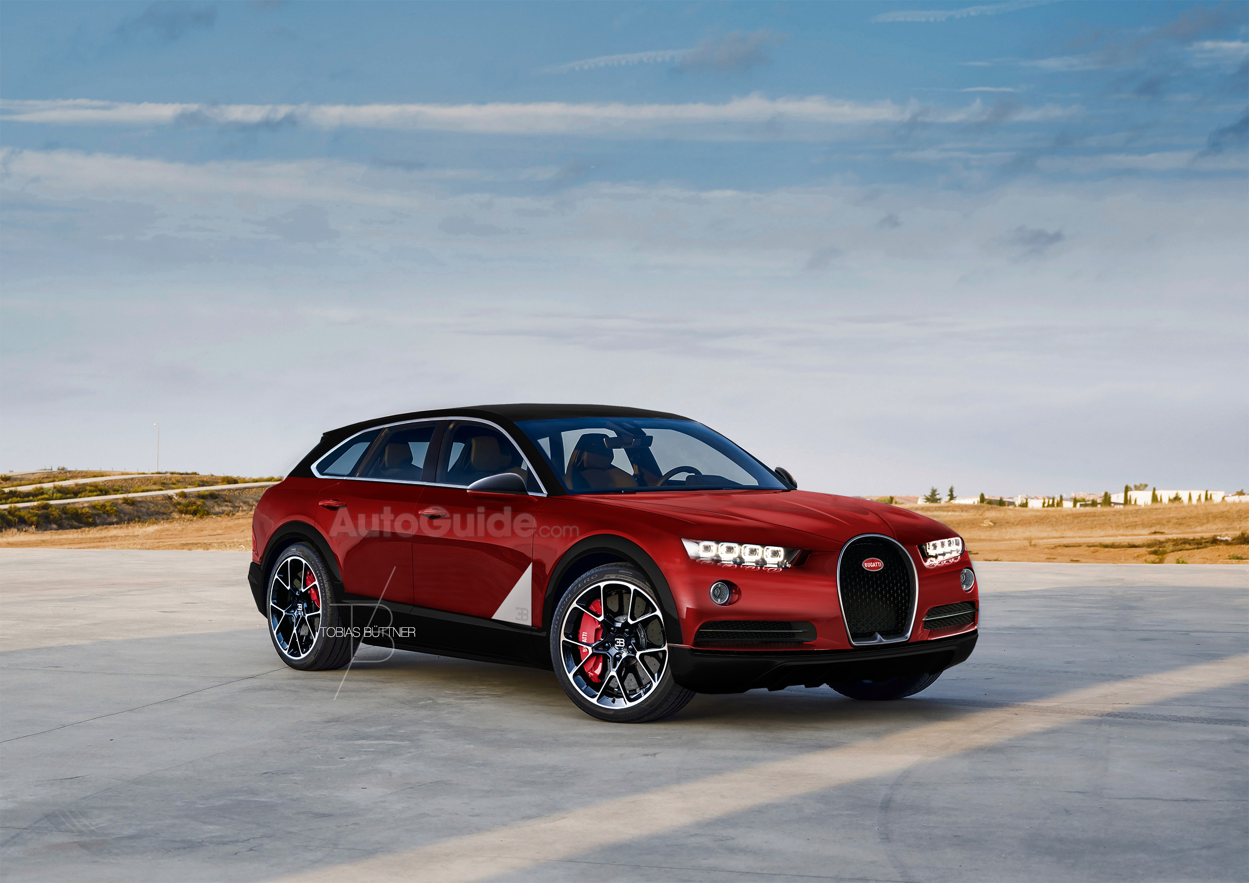 Is This Imagined Bugatti SUV Crazy Awesome or Crazy Stupid ...