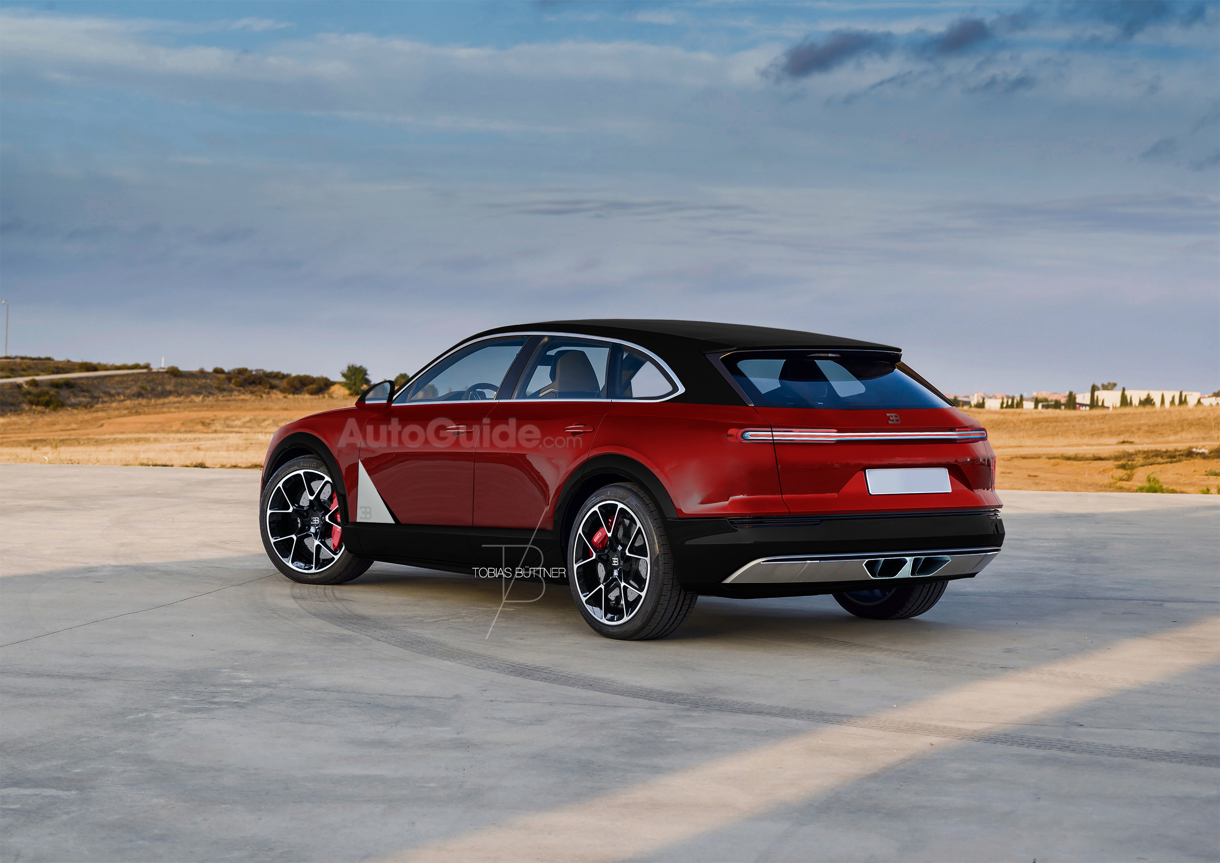 Is This Imagined Bugatti SUV Crazy Awesome or Crazy Stupid