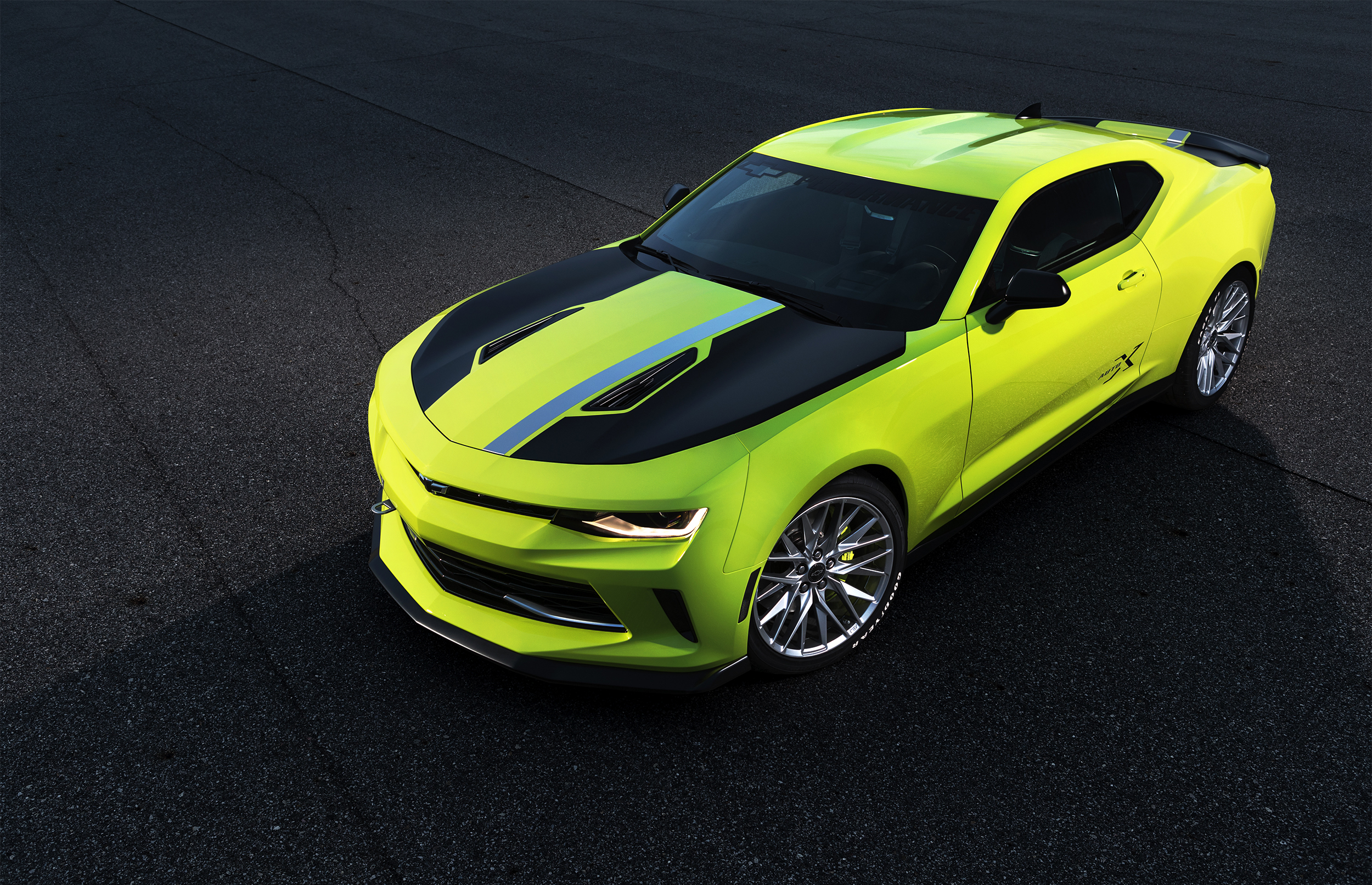 the new camaro turbo autox concept combines the ltg 2 0l turbocharged engine with a performance