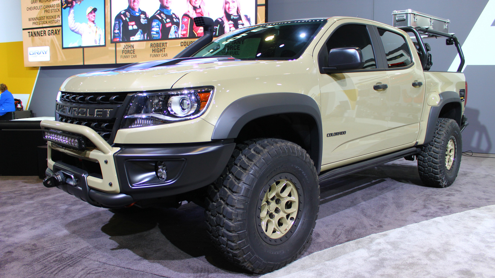 Chevy Colorado Concepts Built For Overlanding Desert