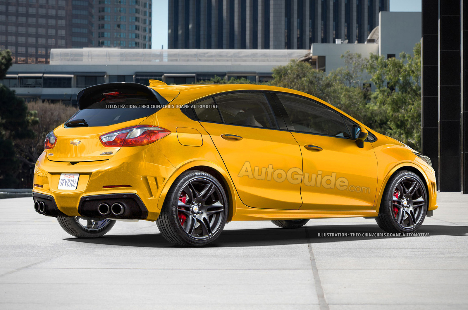 Here S What The Chevrolet Cruze Ss Hatchback Could Look Like