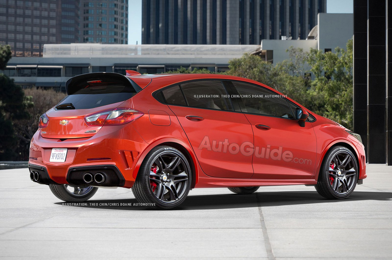 Chevy Cruze Ss >> Here S What The Chevrolet Cruze Ss Hatchback Could Look Like