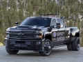 2018 Silverado 3500HD Safety Safari SEMA Concept with Duramax 6.6L turbo-diesel engine is designed to help keep racers safe on the track.