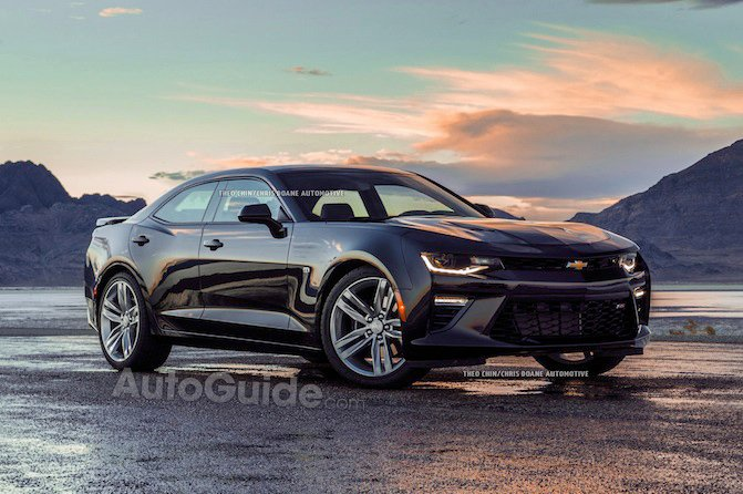 Rendering of a Chevy Camaro Sedan is Blasphemous and We ...