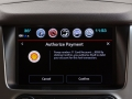 This new feature allows drivers of eligible Chevrolet vehicles to pay and save when they fuel up at participating Shell branded stations directly through the touch screen in their vehicle, without swiping a credit card or using a mobile device. (Photo by John F. Martin for Chevrolet)
