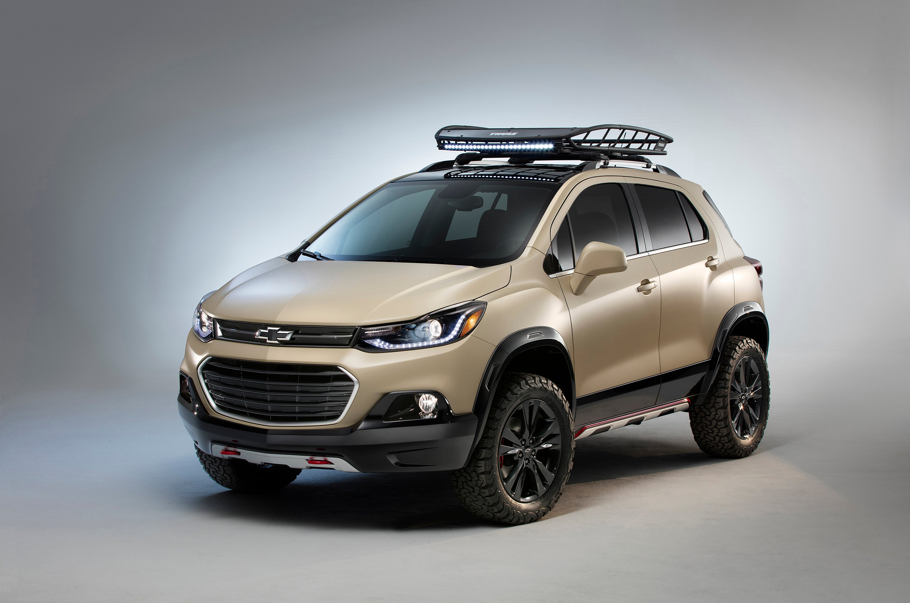 chevy trax activ concept beefed up for off roading news. Black Bedroom Furniture Sets. Home Design Ideas