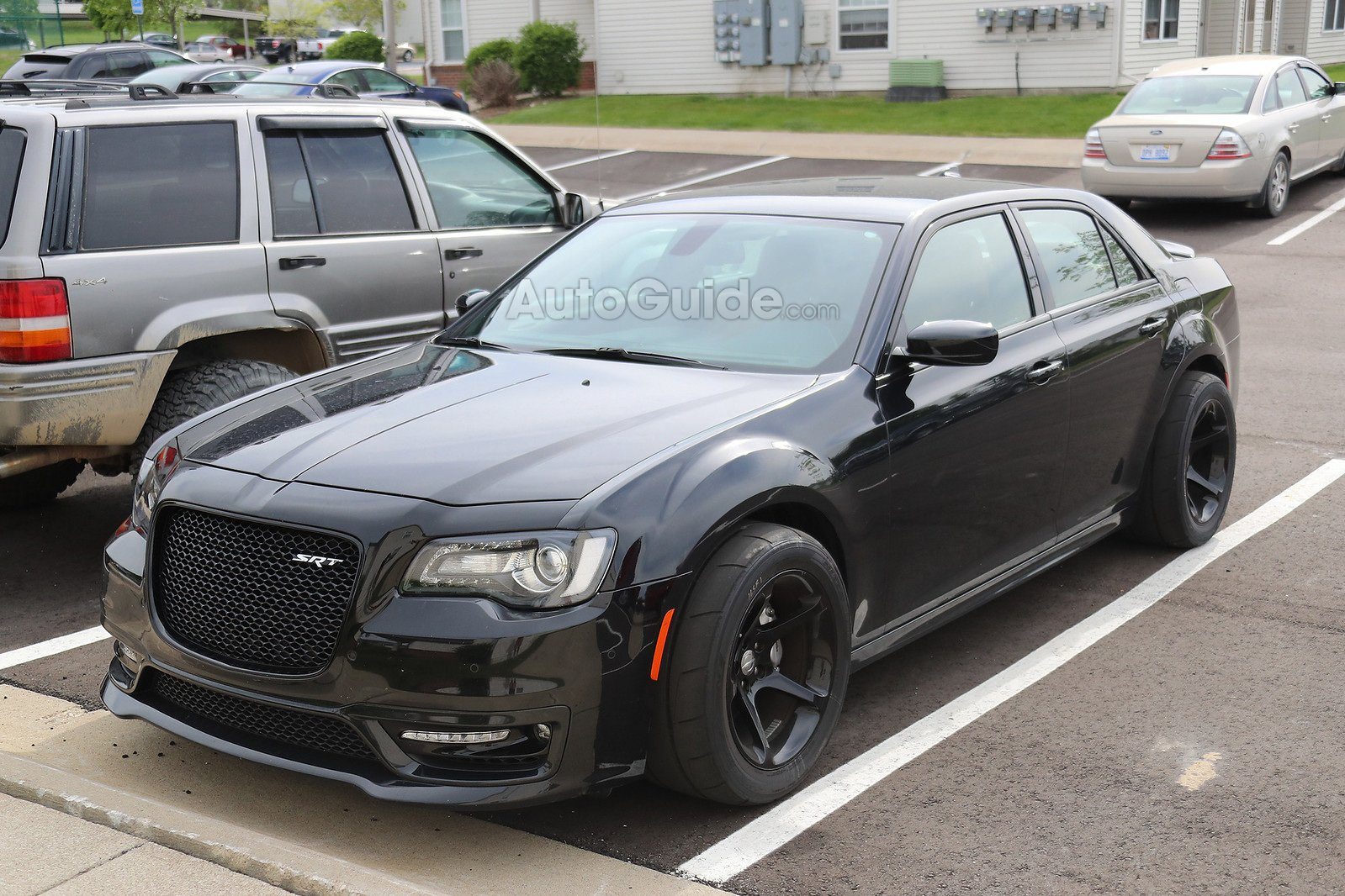 Chrysler 300 Srt Spied 1 Copy