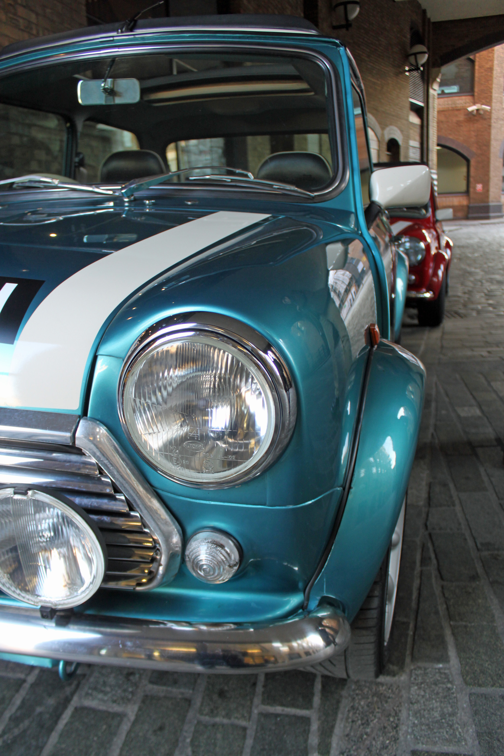 Small Car, Big City: Driving a Vintage Mini Through the Streets of ...