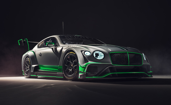 The Bentley Continental Makes For The World S Coolest Gt3 Car
