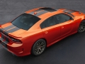 Dodge expands its color palette with a new, modernized version of Go Mango exterior paint on 2016 Dodge Charger SRT models.