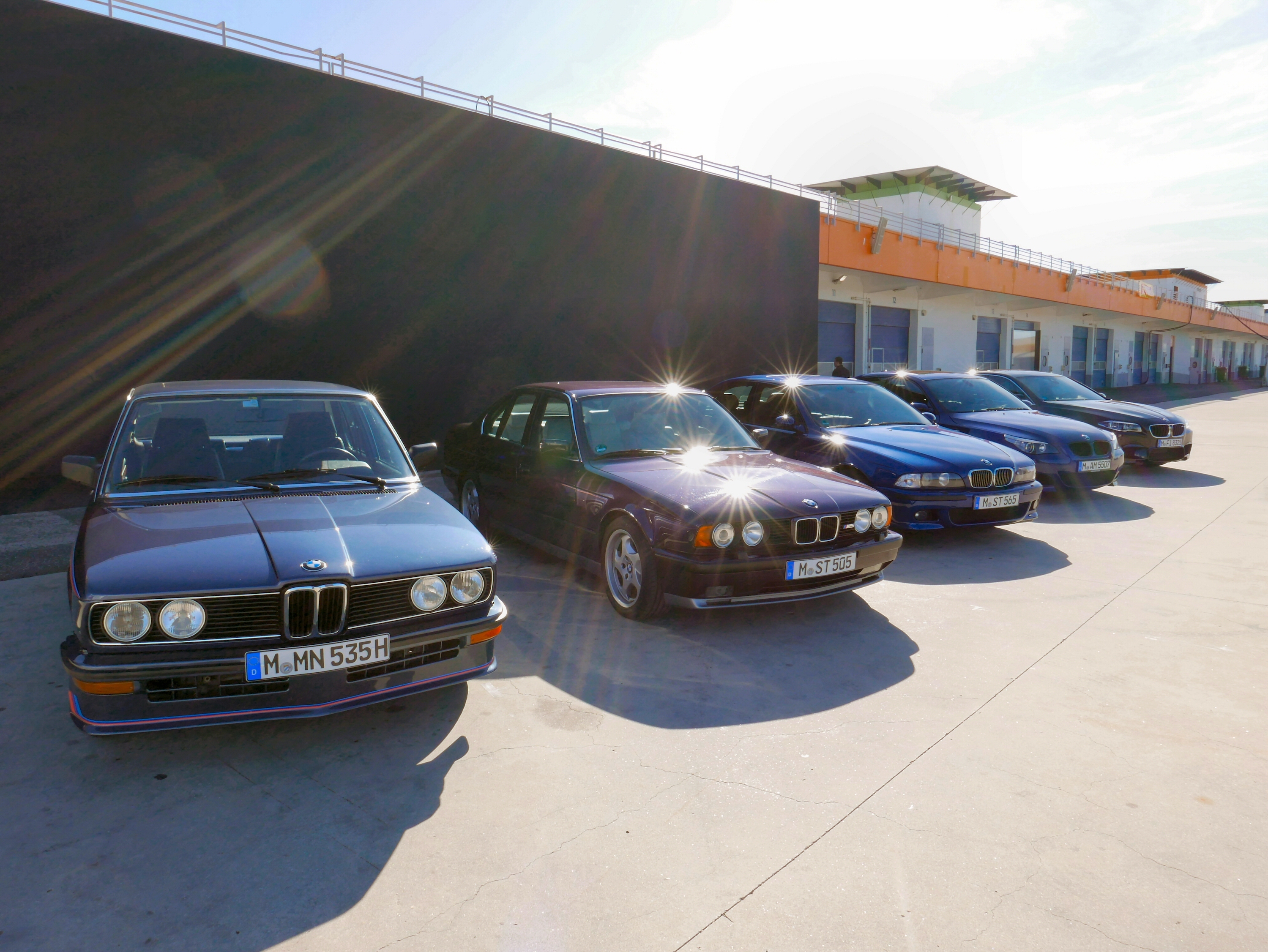 M5 Inception We Drive Each Generation Of Bmw M5 Back To Back To Back Autoguide Com News
