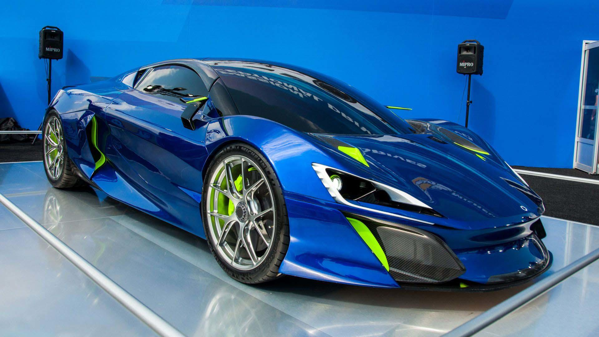 Hey Look Another Hp Hybrid Hypercar Has Arrived Autoguide
