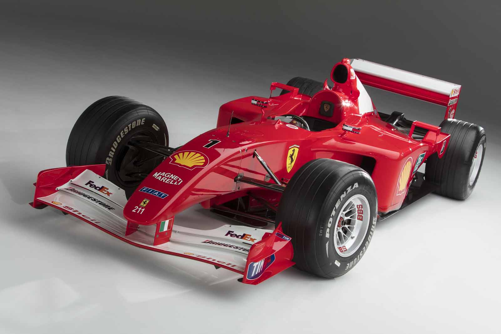 ferrari f2001 michael schumacher - photo #5