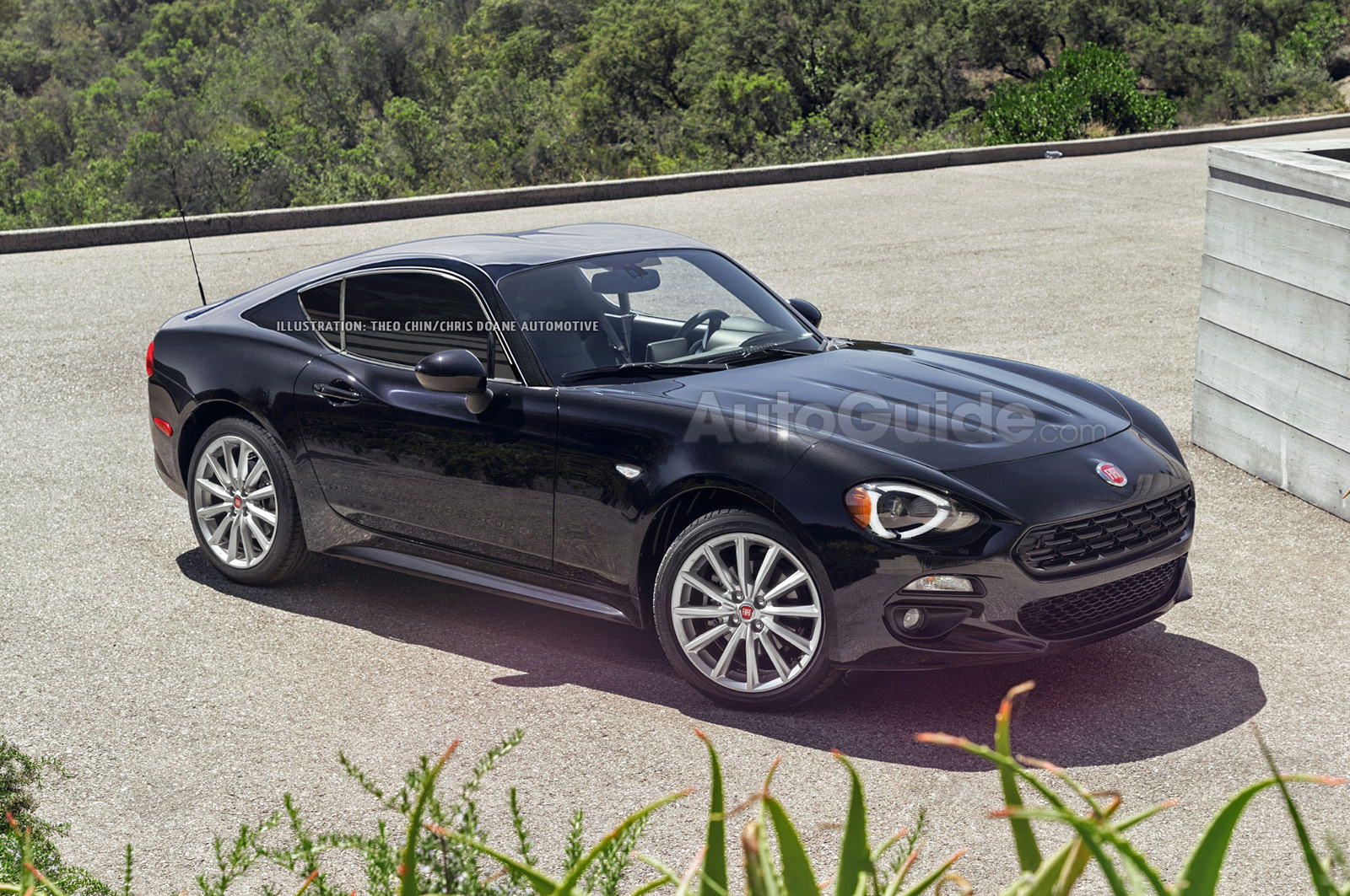 fiat 124 coupe could happen and this is what it might look like news. Black Bedroom Furniture Sets. Home Design Ideas