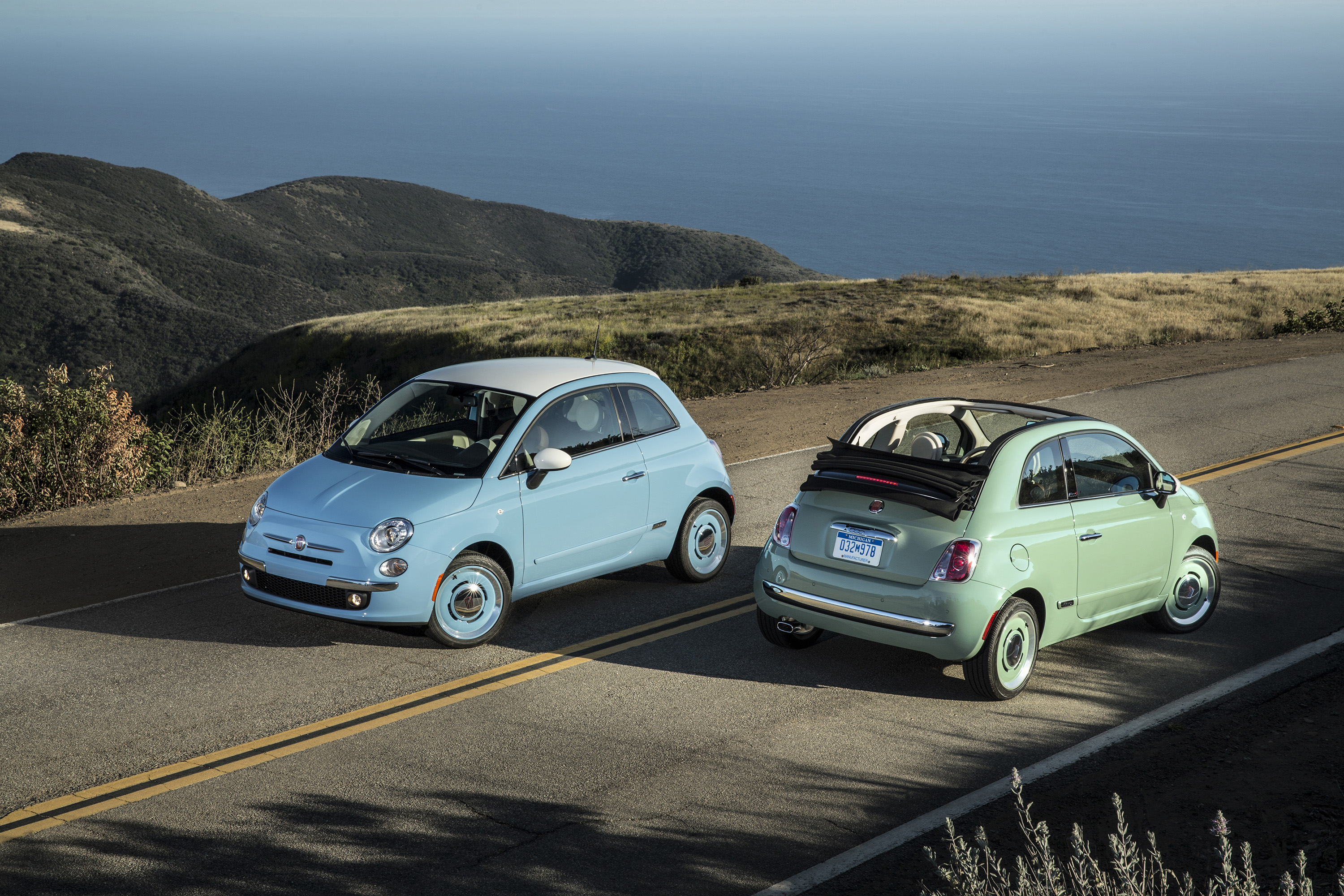 Fiat 500 Cabrio Gets Stylish 1957 Edition 187 Autoguide Com News