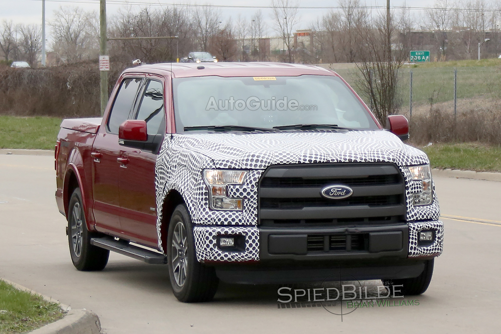 ford f 150 hybrid spotted testing news. Black Bedroom Furniture Sets. Home Design Ideas