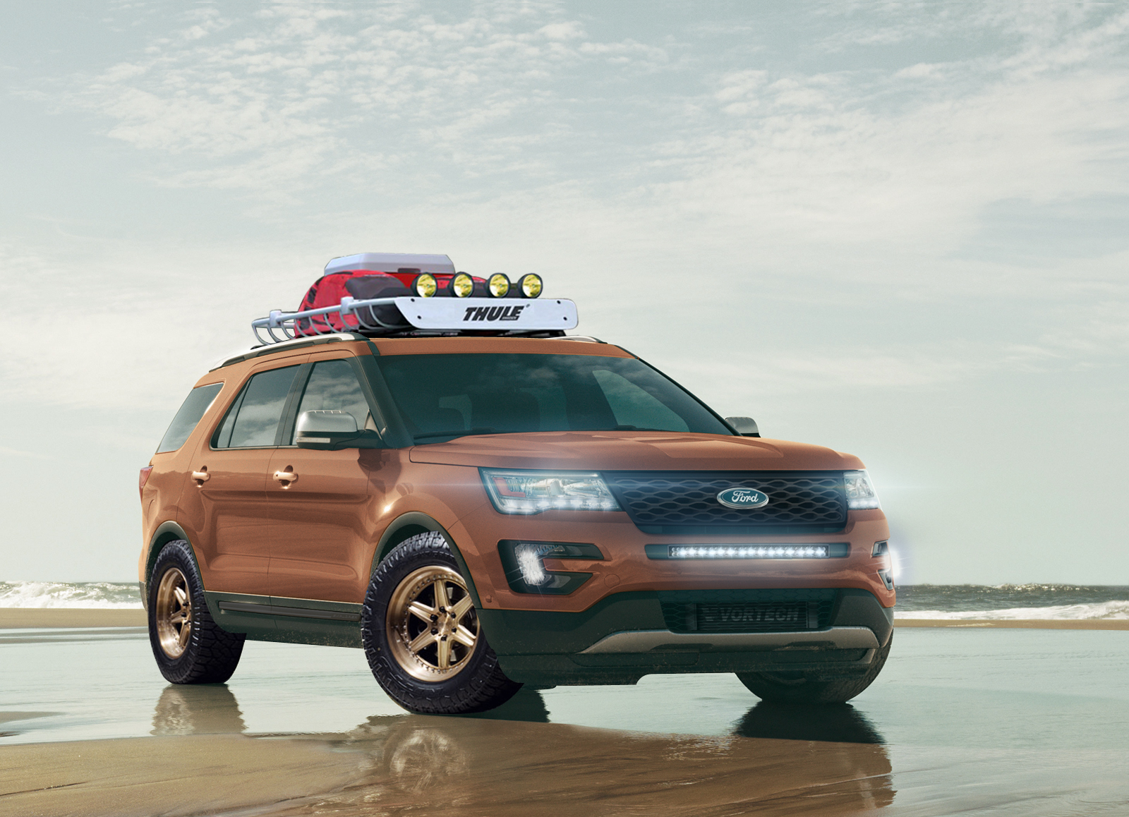 Edge Sport All Star Performance Ford Explorer Sport Is Your Bronzed Adonis Ready For Any Adventure