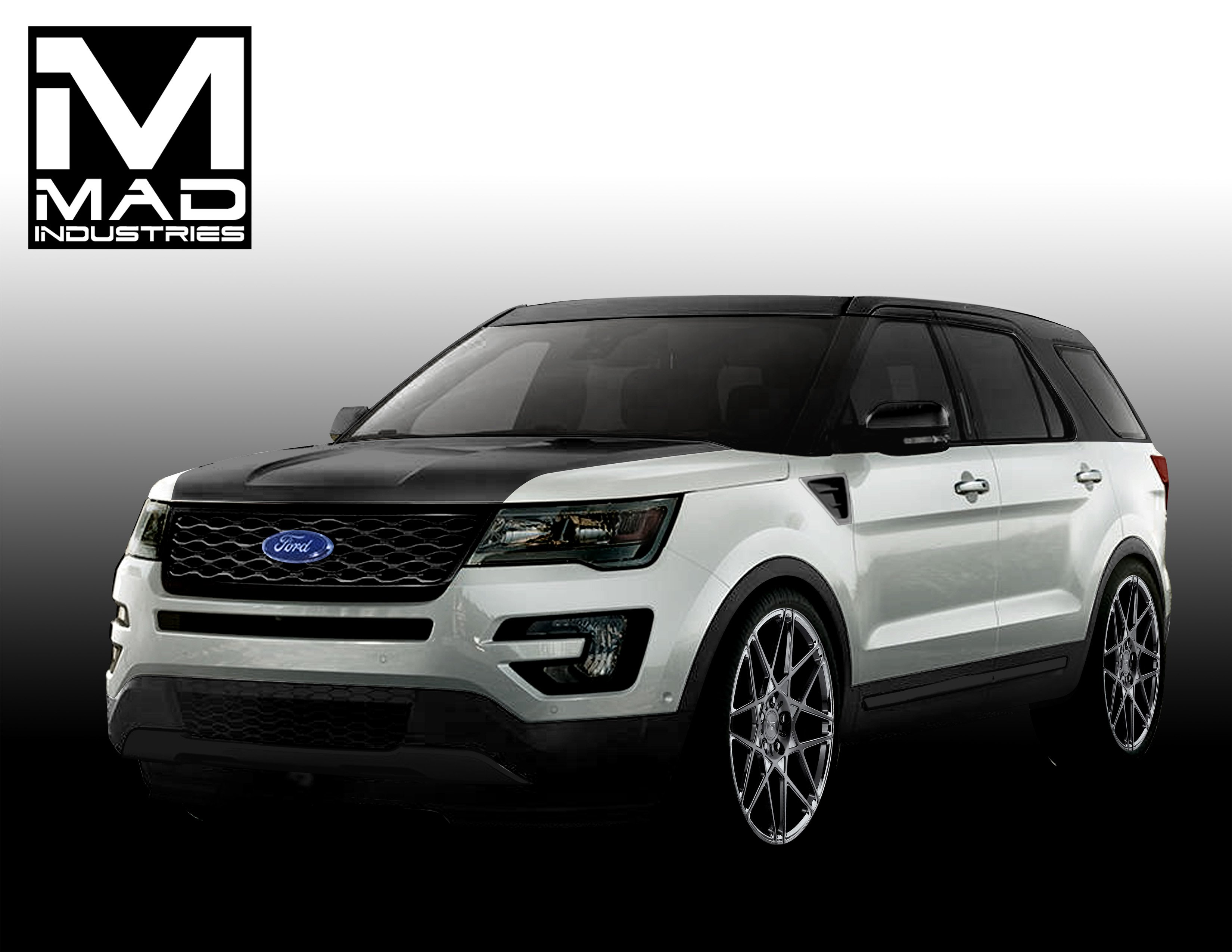 sema mad auto ford industries sport dressed get up show edge for news explorer suv