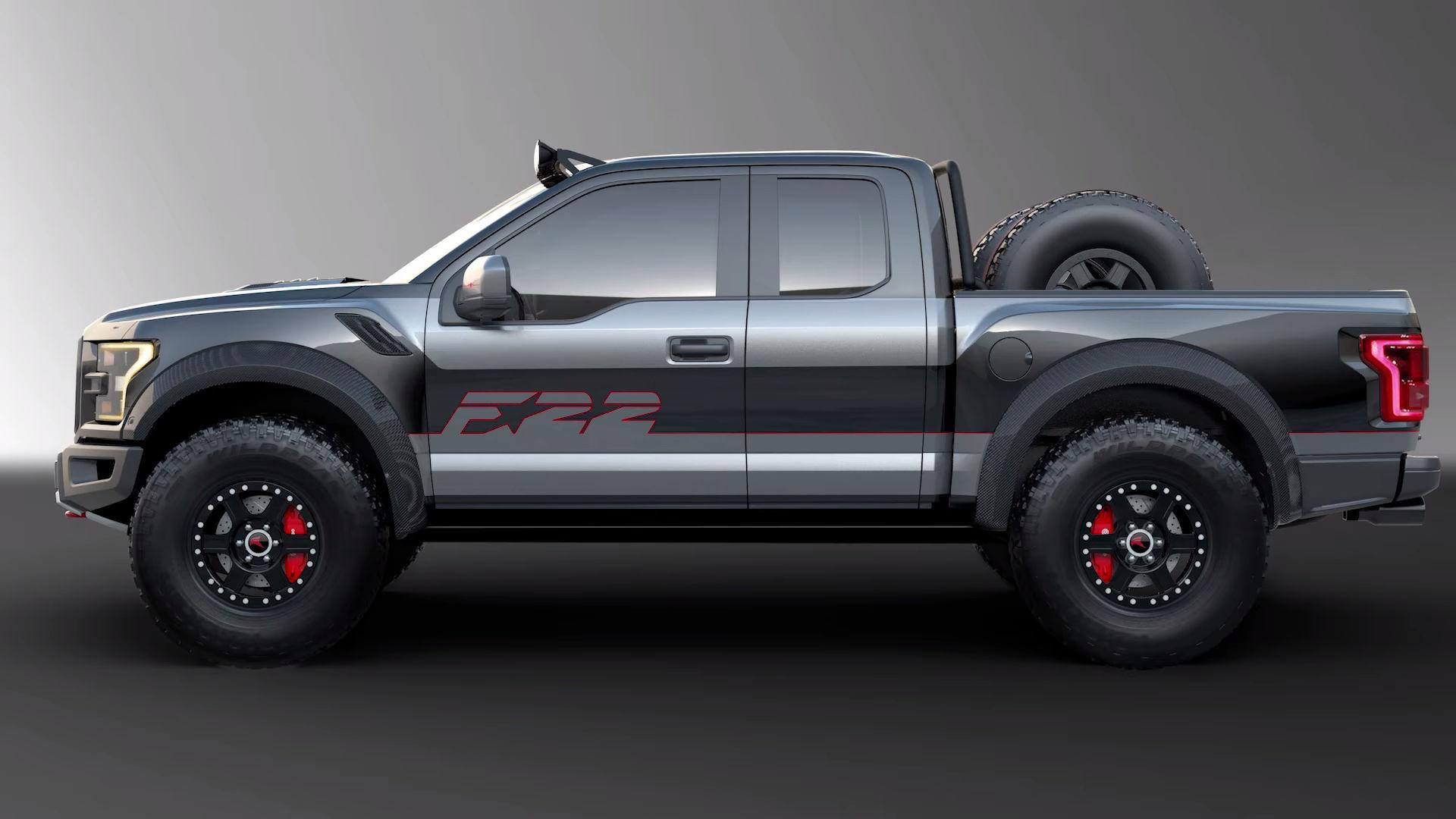 Custom Ford F 150 F22 Raptor Heading to Auction AutoGuide News
