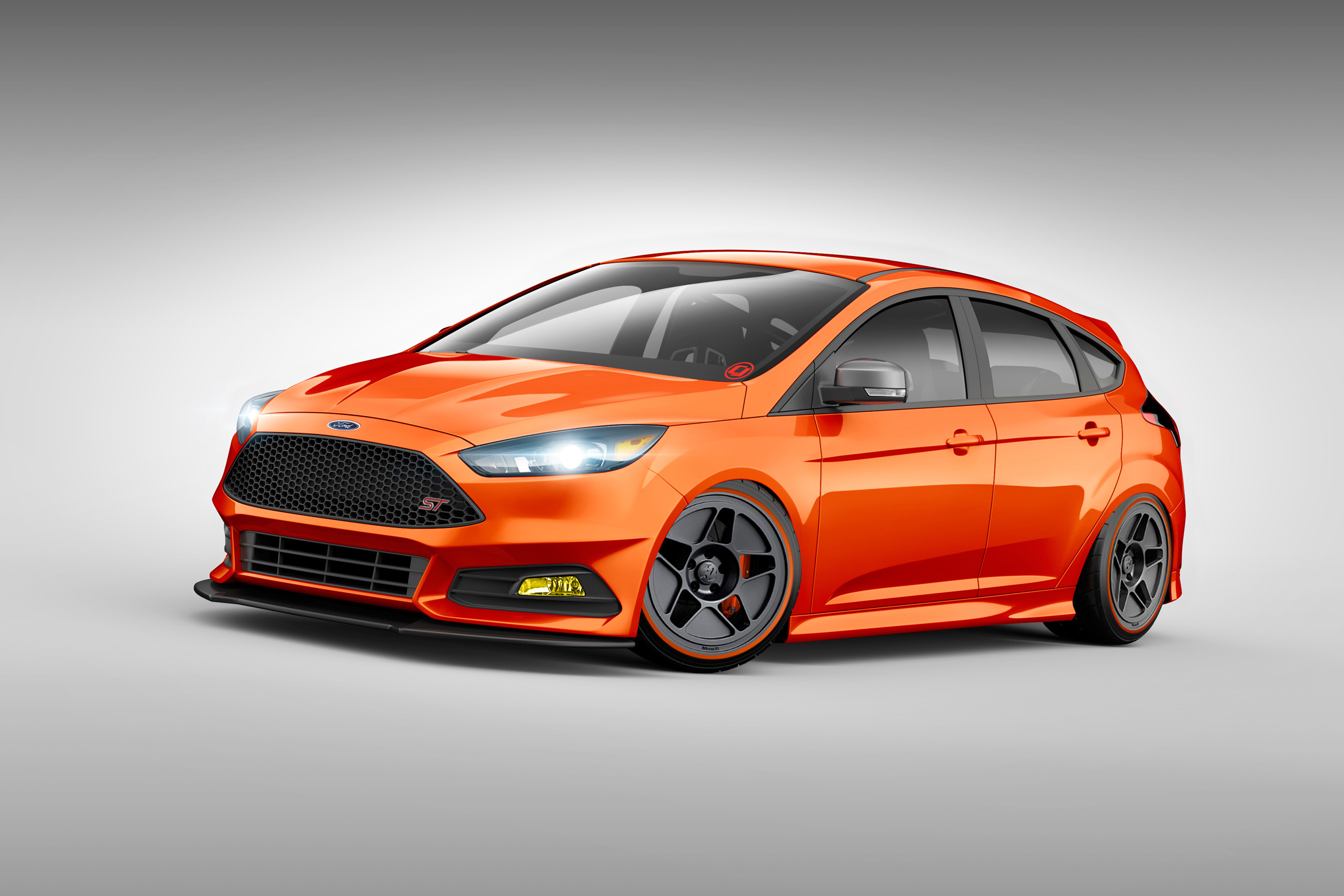 Ford Focus Wheels And Tires >> Ford Previews Focus ST, Fiesta ST Projects for SEMA