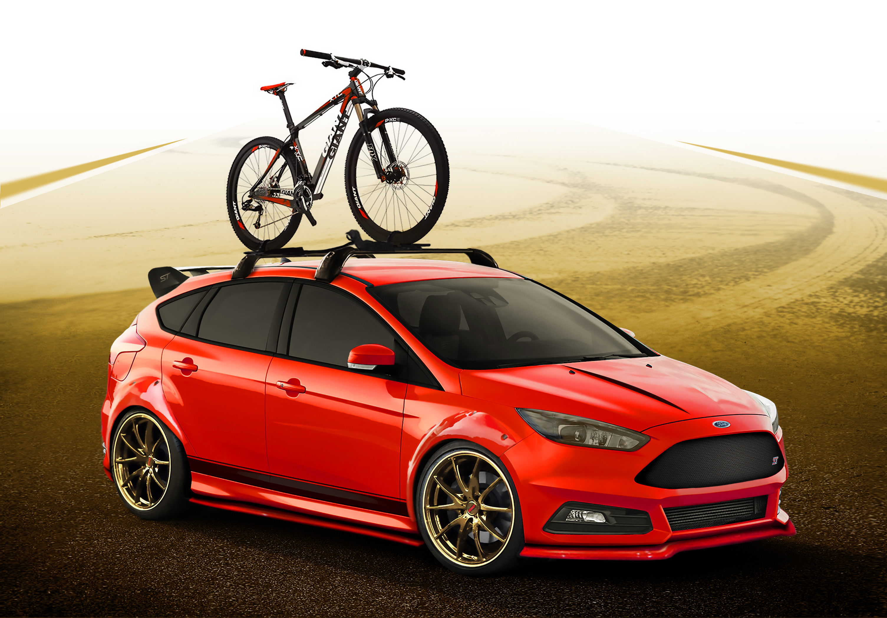 Custom Focus St >> Ford Previews Focus St Fiesta St Projects For Sema