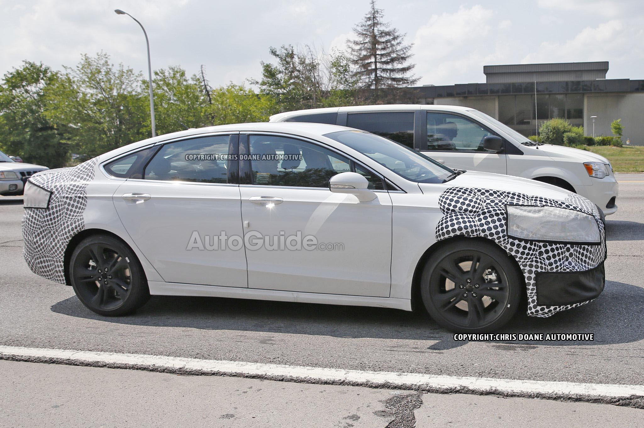 Ford Fusion ST Spied With Quad Tailpipes AutoGuide News