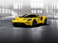 Triple-Yellow-Ford-GT-front-three-quarter