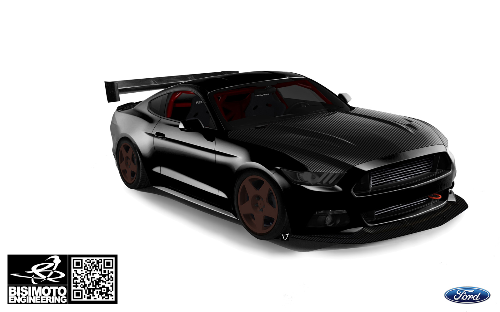 Eight custom ford mustangs invading 2015 sema show