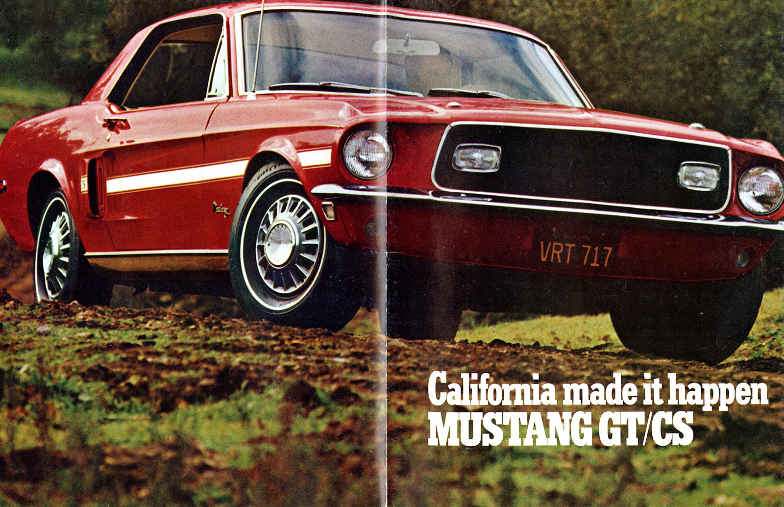 California Made it Happen: The History of the Ford Mustang GT/CS ...
