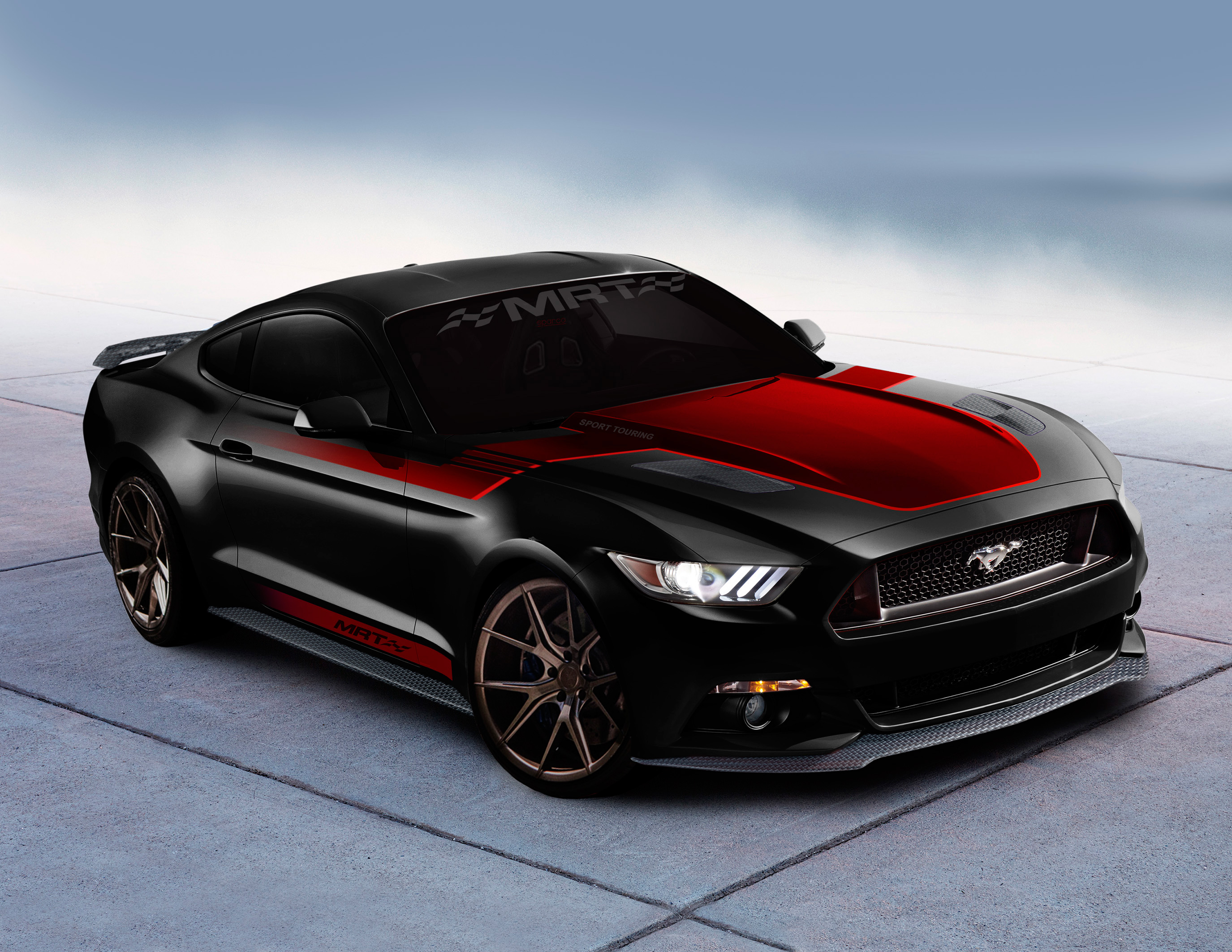 Ford Mustang And Fusion Sport Get Ready To Invade Las Vegas