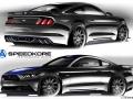 SEMA 2016 - 2017 Ford Mustang Fastback by SpeedKore Performance Group