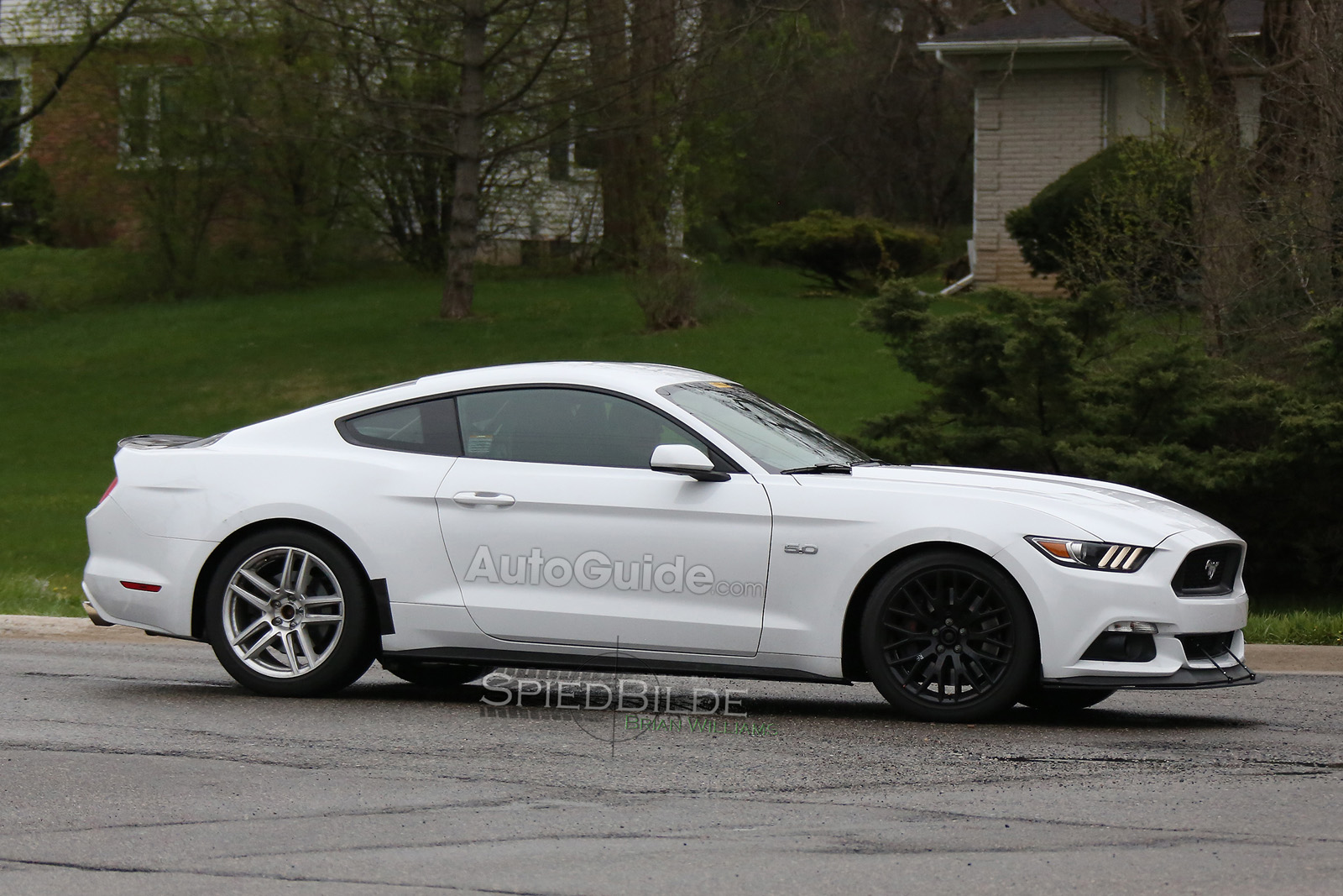 2018 Ford Mustang Mach 1 Spied Testing Autoguide Com News