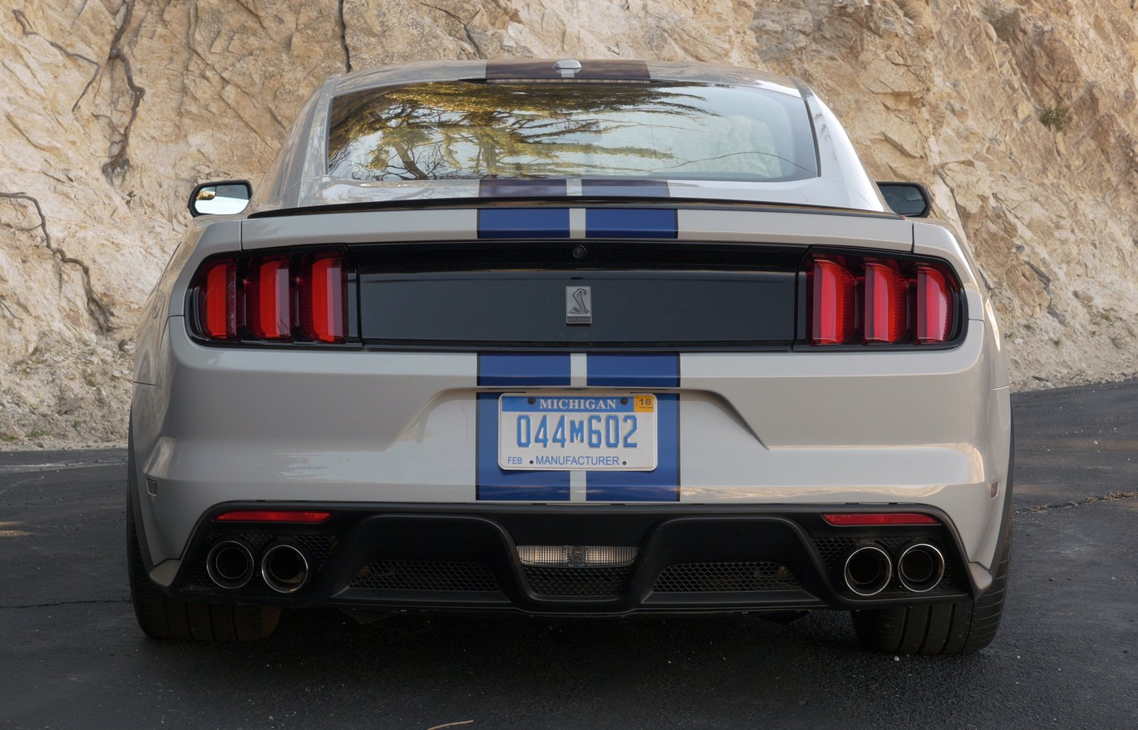 2016 ford mustang shelby gt350 back