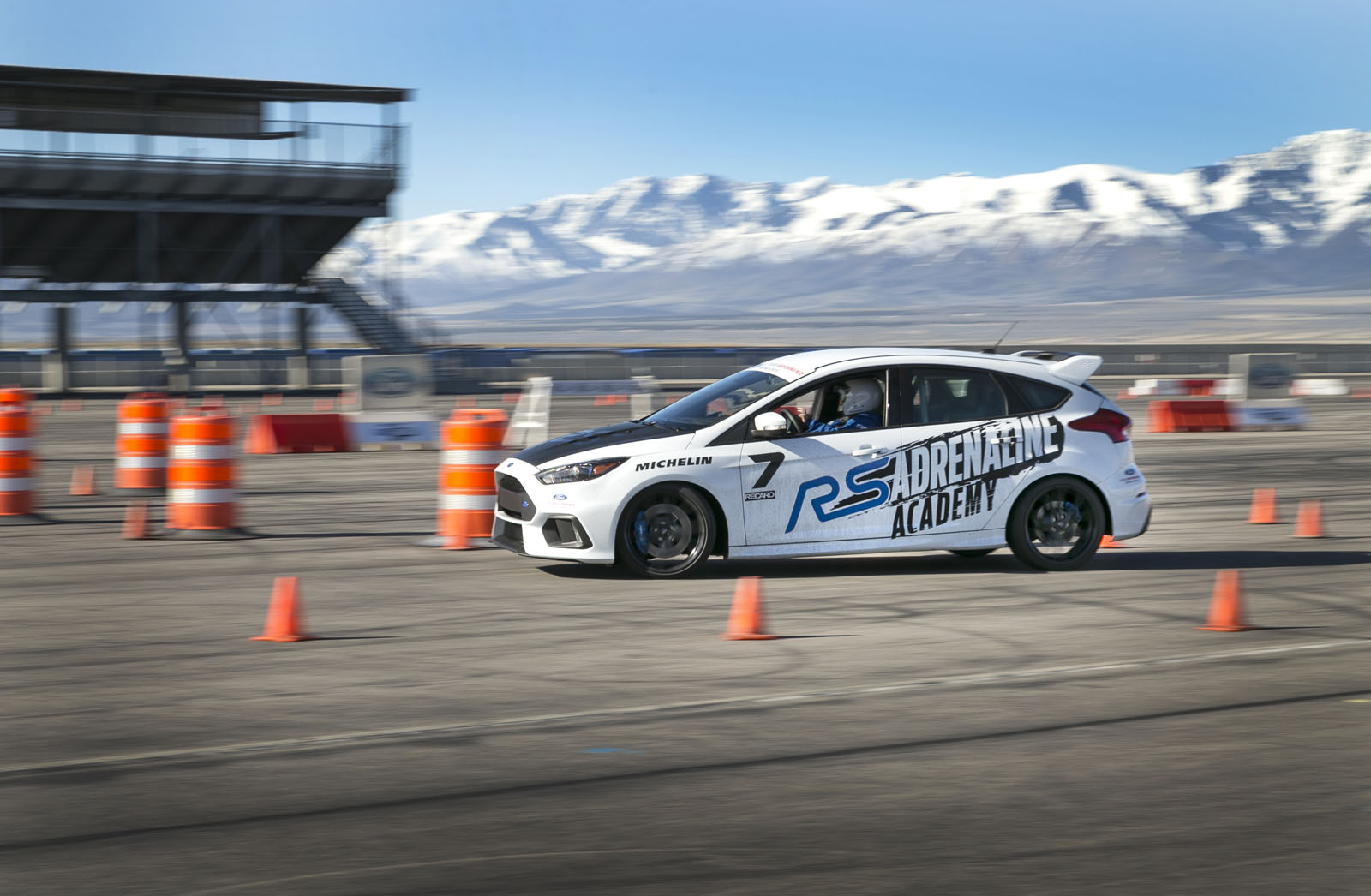Ford Performance Racing School >> Blindfolded Thrills At Ford Performance Racing School