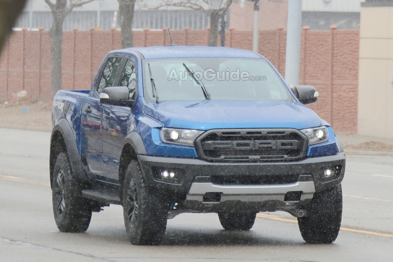 2019 Ford Ranger Raptor Caught Lurking On Us Roads