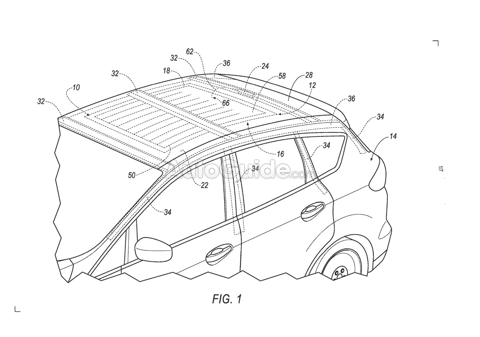 ford patents a new airbag meant to make vehicle rollovers