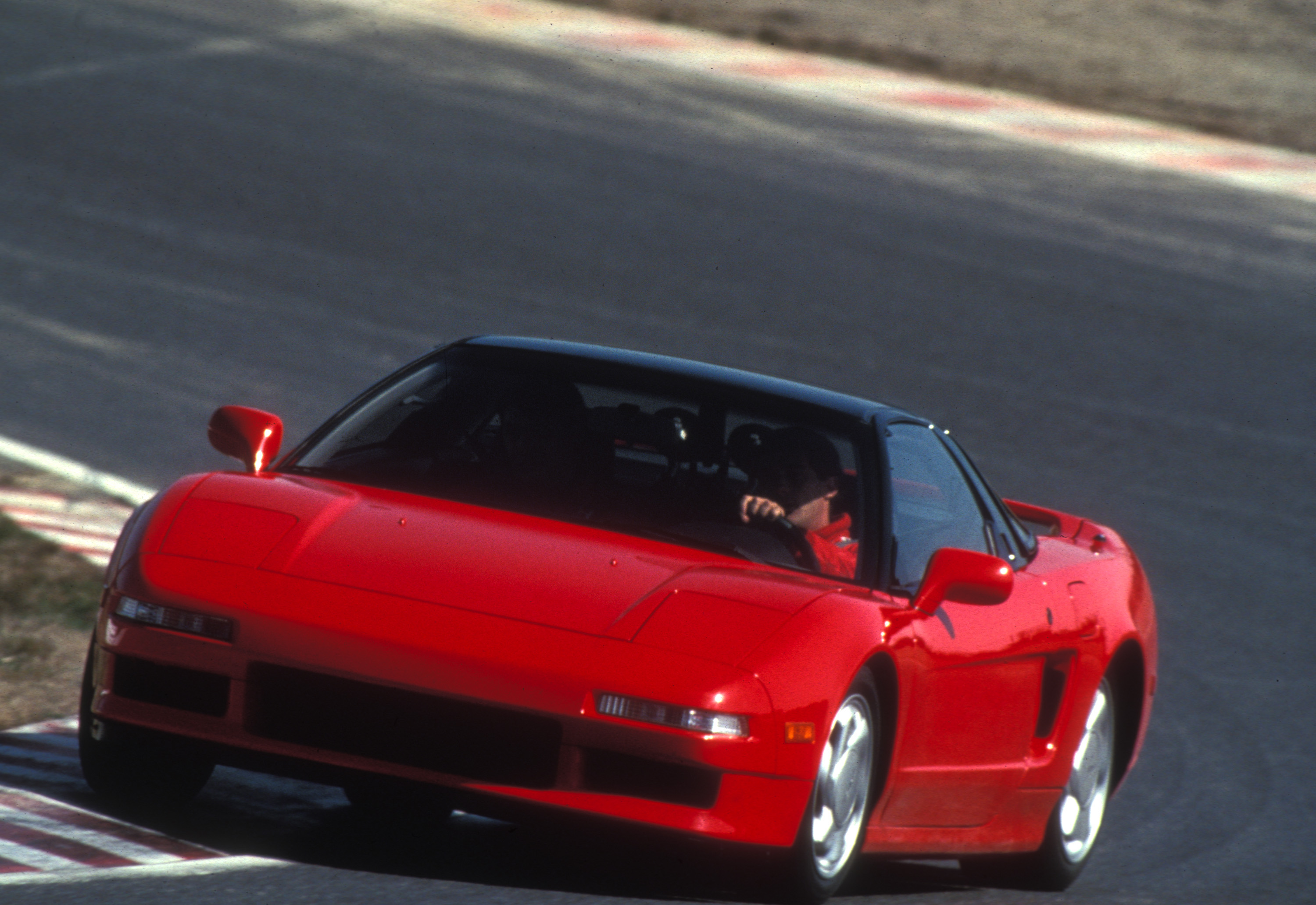 ... Coupe Acura NSX Test At Nurbergring 1990 ...