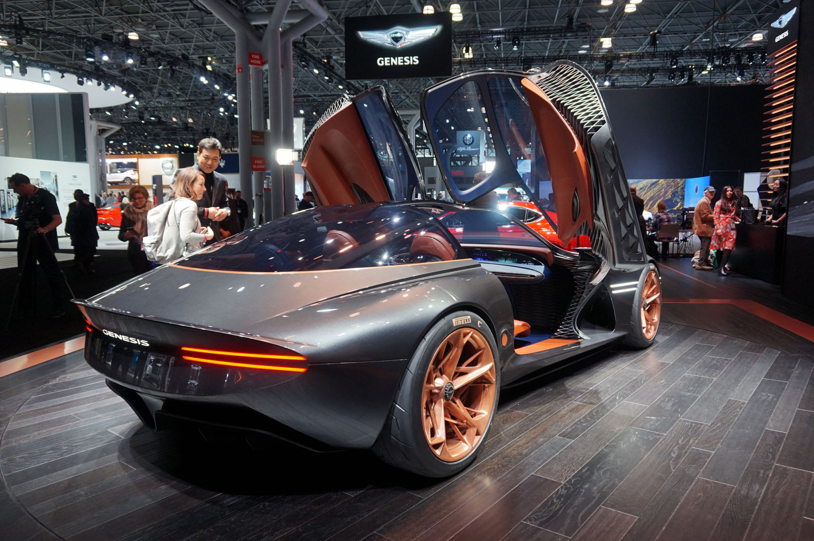 Genesis Essentia Concept Steals The NY Auto Show AutoGuide - Concept car show