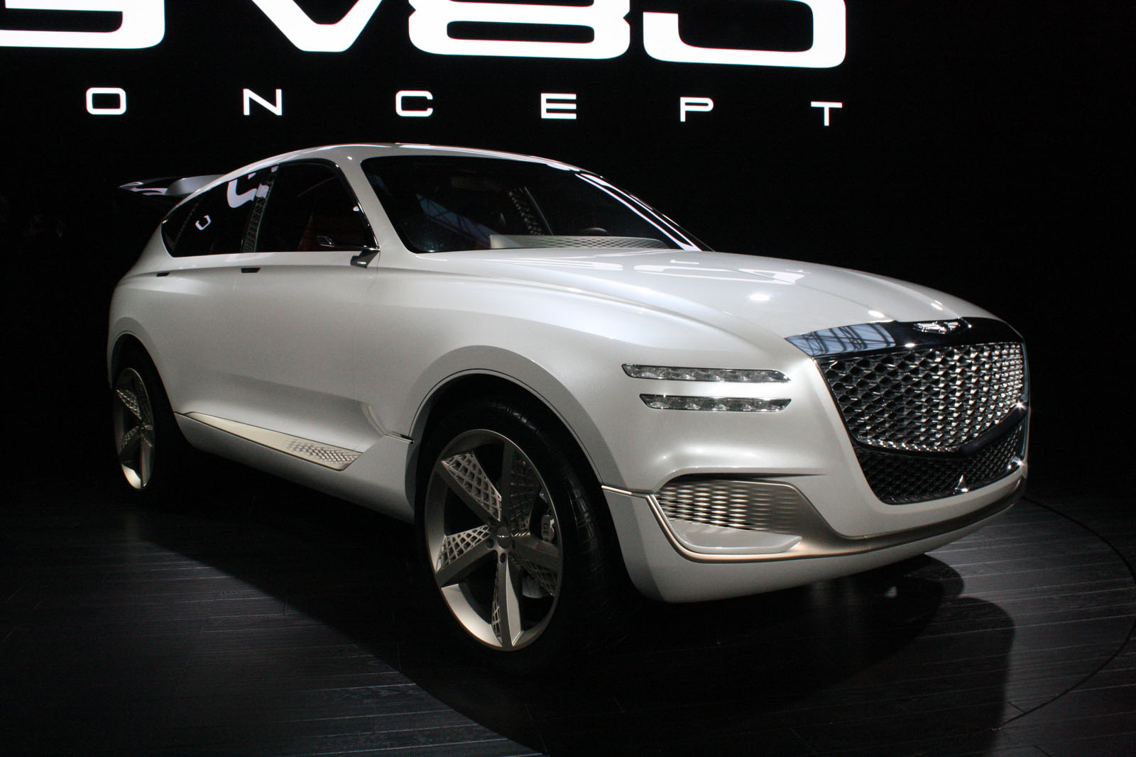 Genesis Goes Mesh Crazy With Funky Luxury Suv Concept Autoguide