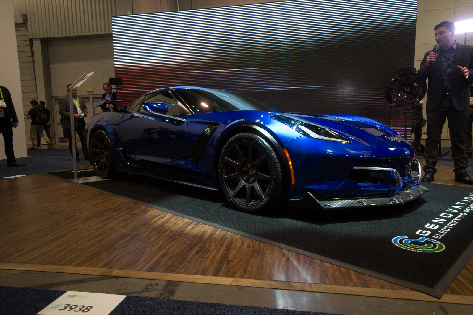 The Genovation GXE is an 800 HP Electric Corvette With a ...
