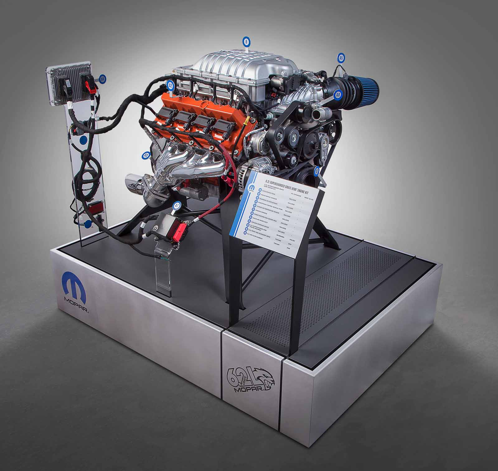 You Can Buy a 707-HP Hellcat Crate Engine Directly From Mopar