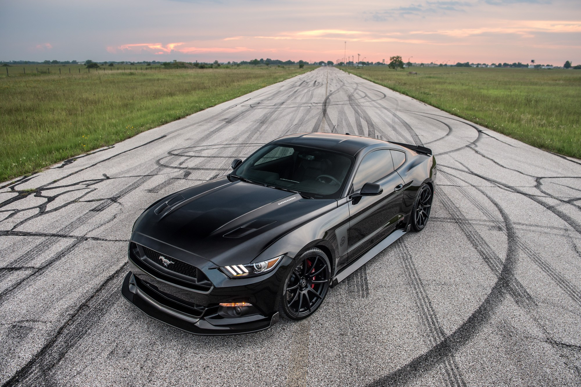Hennessey hpe500 ford mustang 01
