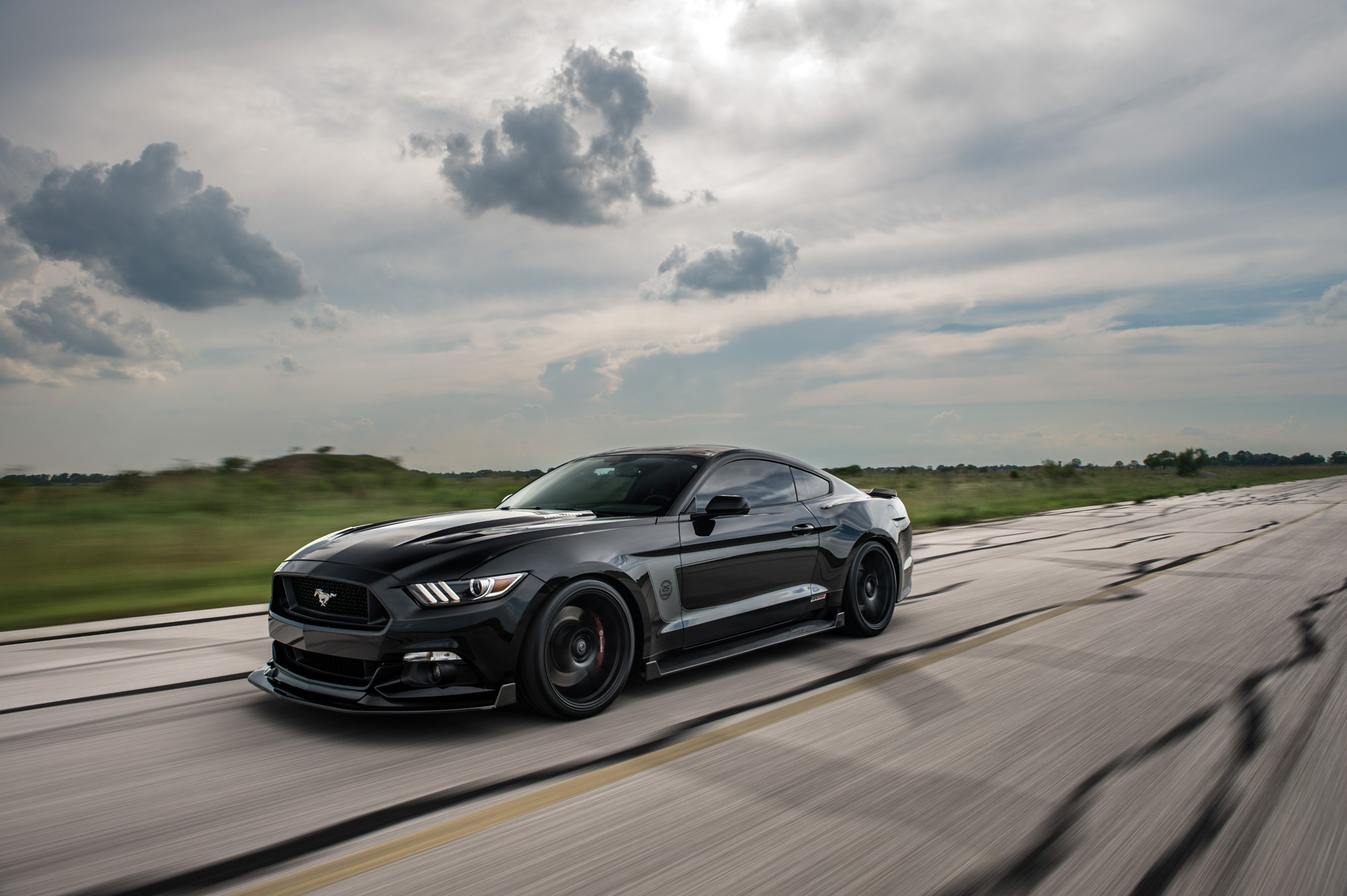 hennessey hpe500 ford mustang 09