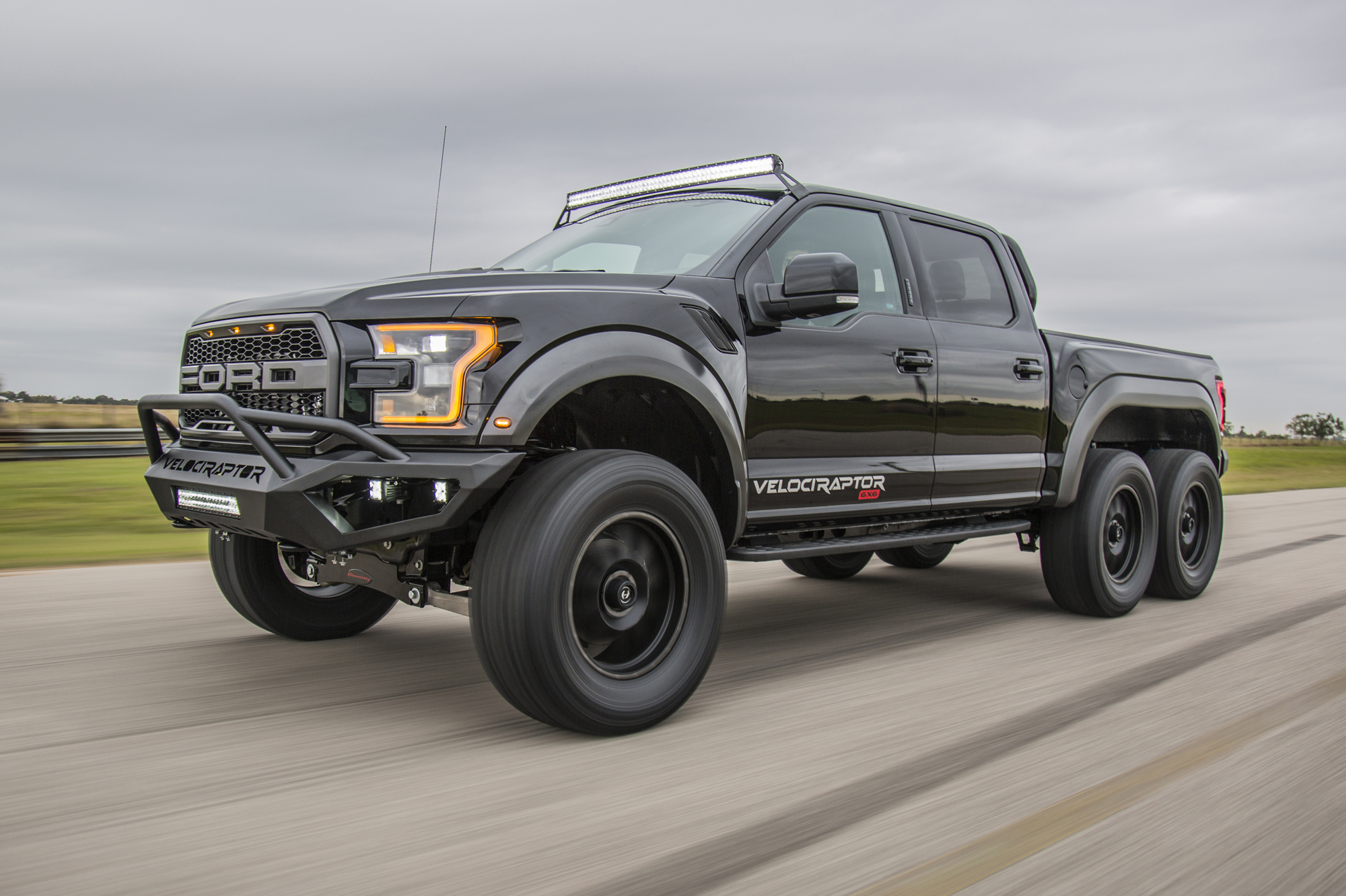 Hennessey's Crazy 6-Wheel Raptor is Heading to Production ...