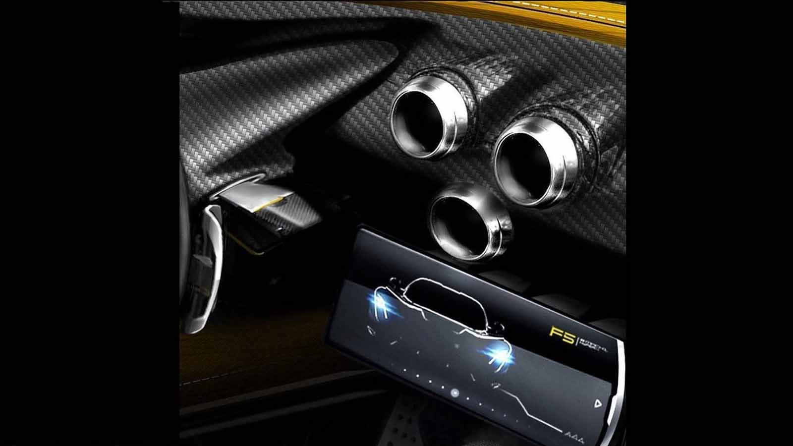 Koenigsegg One Interior >> The Hennessey Venom F5 Will Even Have a Touchscreen » AutoGuide.com News