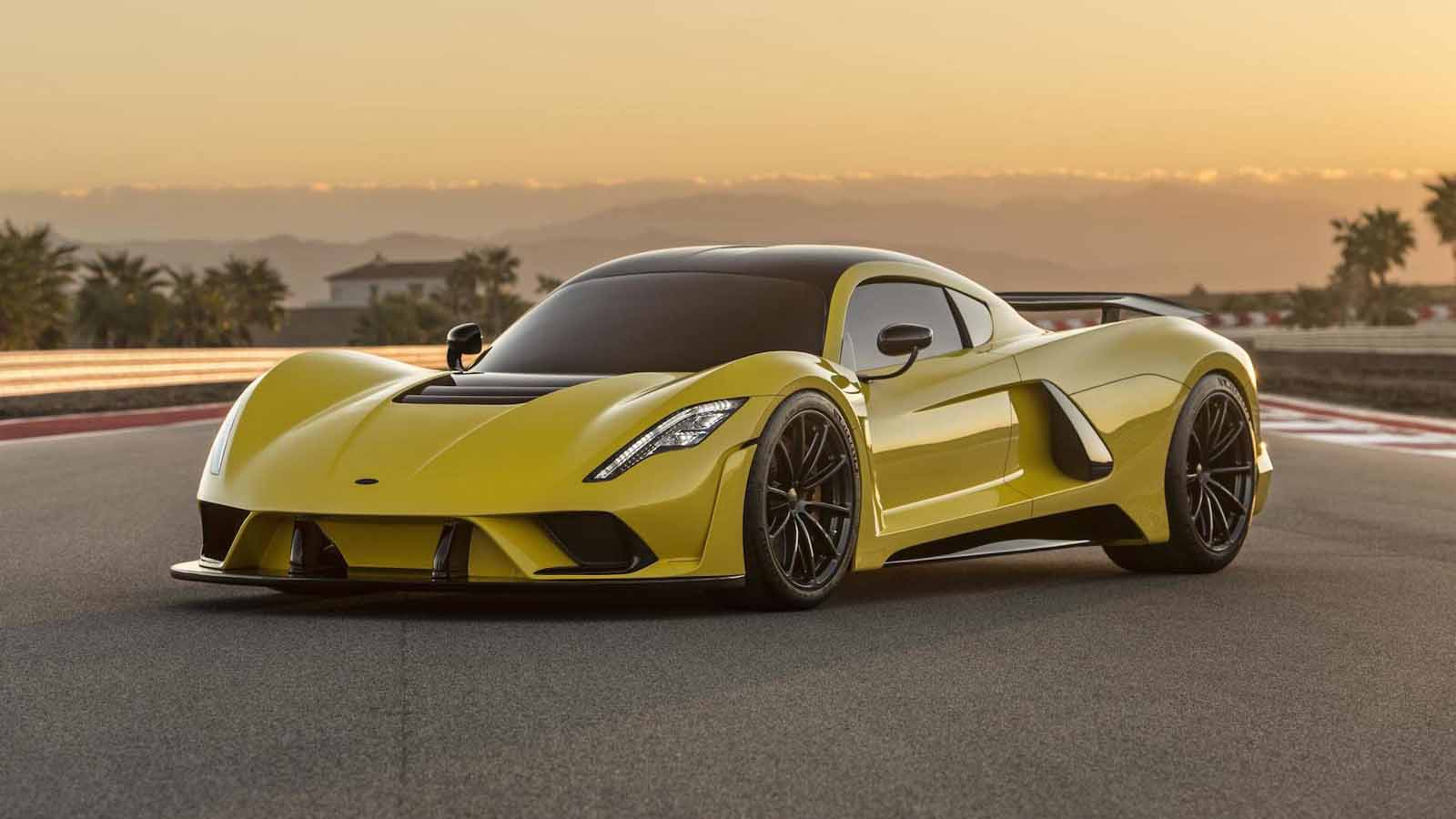 Hennessey Venom F5 has a 1,600-HP V8 and a Top Speed of 301 MPH ...