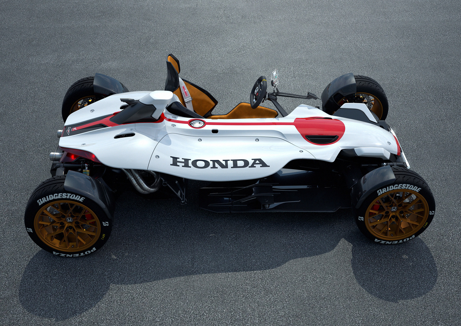 This Wild New Honda Uses A Motorcycle Engine And Revs To 13000 Rpm Project 24 Concept
