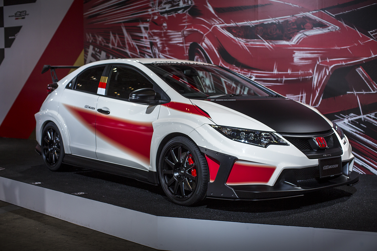 this tuned honda civic type r is every honda fanboy s. Black Bedroom Furniture Sets. Home Design Ideas