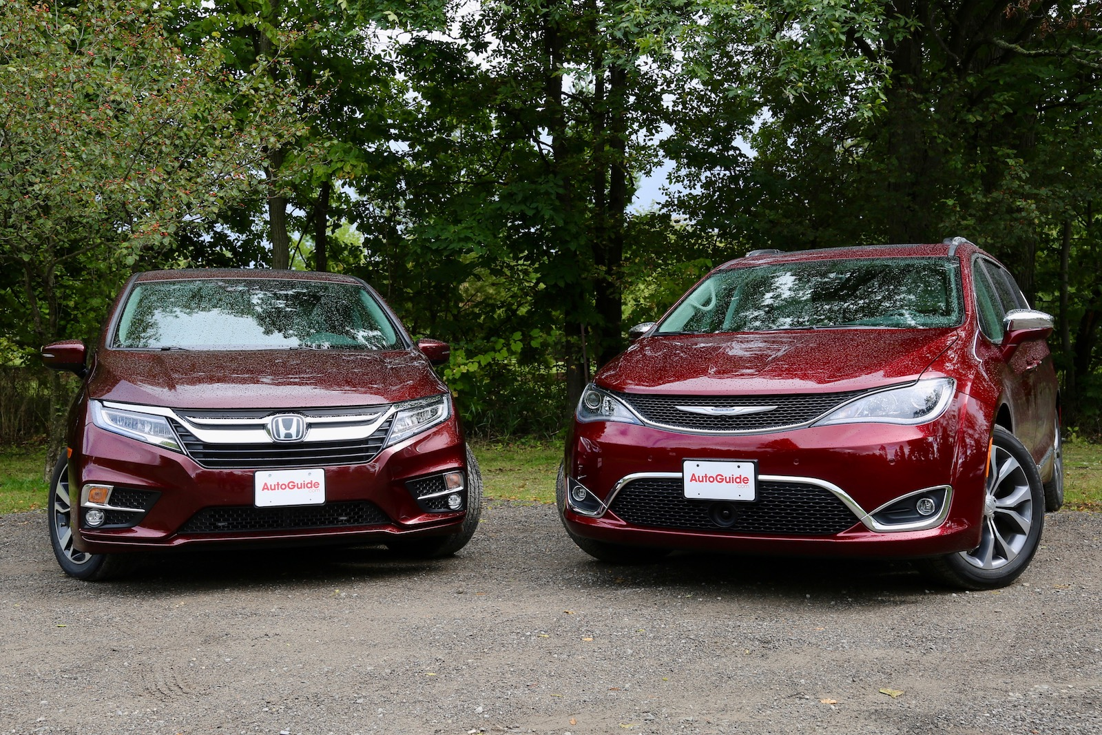 Honda Odyssey Vs Chrysler Pacifica 00001
