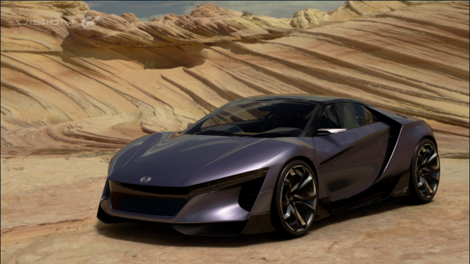 Honda's Vision GT Concept Makes Its Digital Debut